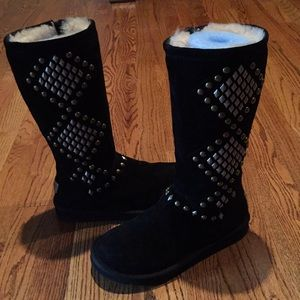 Authentic Ugg studded boots